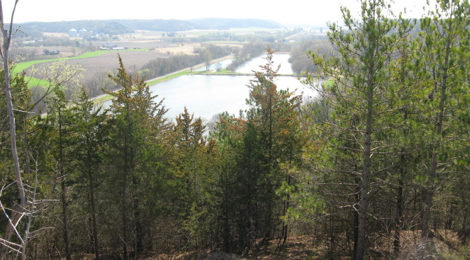 View of Lake Marion from ridge